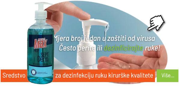 Sredstvo za dezinfekciju ruku kirurške kvalitete